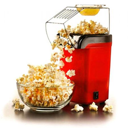 Hot Air Red Popcorn Maker 1200 W