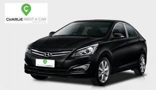 1-Day Nissan Sunny or Hyundai Solaris 2018 Car Rental