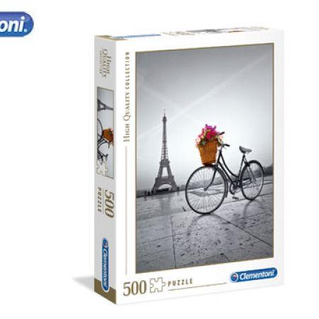 Clementoni Romantic Promenade in Paris High Quality Collection Puzzle 500 Pcs