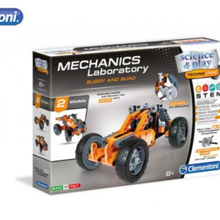 Clementoni Mechanics Laboratory Buggy and Quad