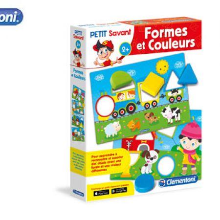 Clementoni Formes Et Couleurs - French