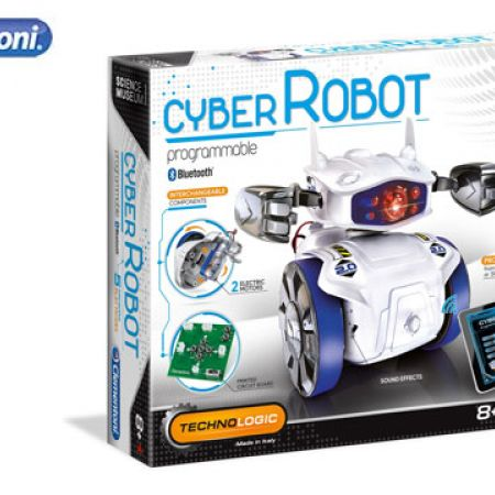 Clementoni Cyber Robot - French & English