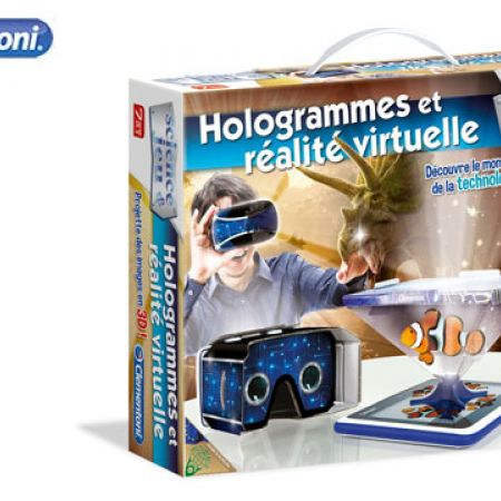 Clementoni Hologrammes Et Realite Virtuelle - French