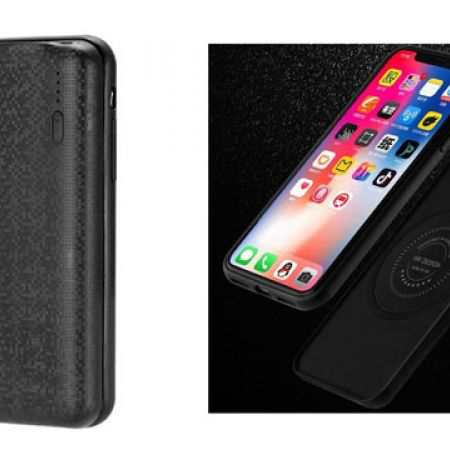 Wireless Black Charger Mobile Case For iPhone X