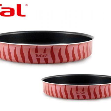 Tefal Set Of Flame New Round Oven Dish 2 Pcs 34 - 38 cm J1196885