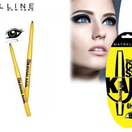 Maybelline New York Colossal Kajal 6 HR Black Blister Eyeliner