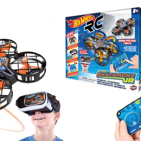Bladez Toyz Hot Wheels DRX Skytrackz VR Drone