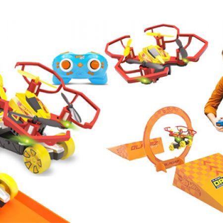 Bladez Toyz Hot Wheels Drone Racerz Triple Threat Set With Remote Control
