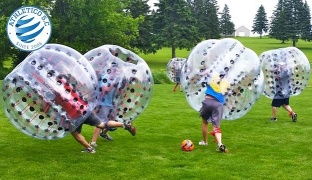 1-Hour Bubble Soccer Match For One With Free Water