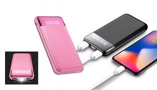 Joyroom MGD01 Dual USB Power Bank 10000 mAh - Black