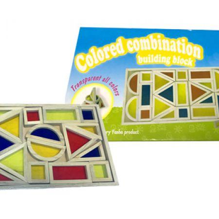 Colored Combination Building Block
