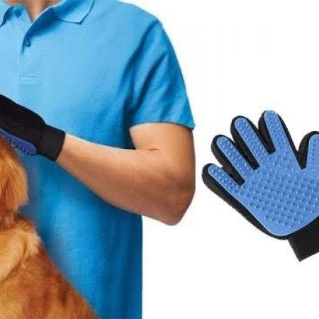 Pet Grooming Glove Brush