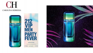 Carolina Herrera 212 VIP Men Party Fever Eau De Toilette For Men - 80 ml