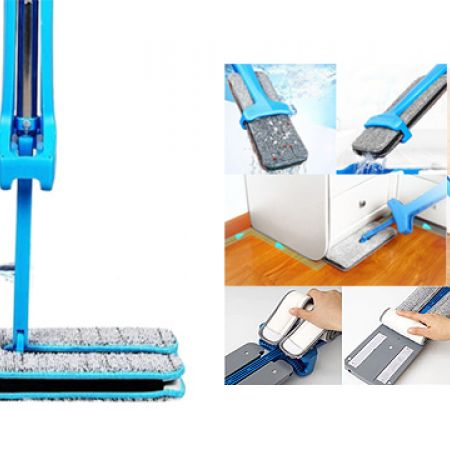 Double Sided Non Hand Washing Flat Mop