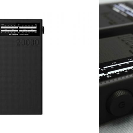 WK Design WP-058 4-USB Sound Power Bank 20000 mAh