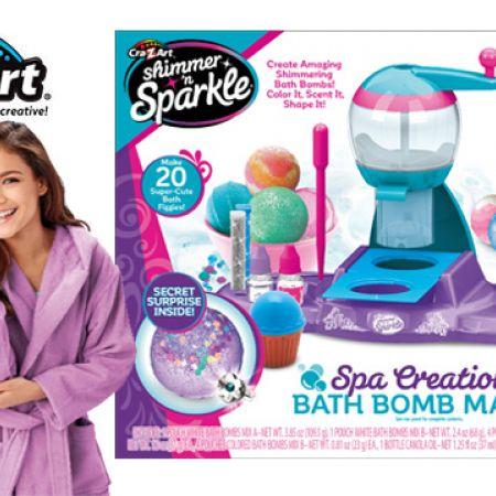 Cra-Z-Art Shimmer N Sparkle Spa Creations Bath Bomb Maker