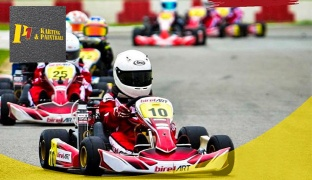 15 min. Karting for 1 Seat 7 Horse Power Cars