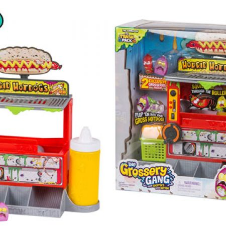 Moose Toys Grossery Gang Season 2 Horrid Hot Dog Playset