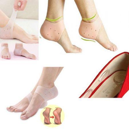 Moisturizing Silicone Gel Heel Anti-Crack Socks 2 Pcs