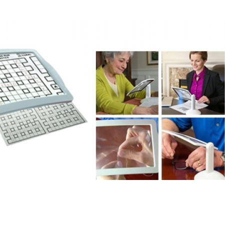 Brighter Viewer Screen Magnifier With Led Light