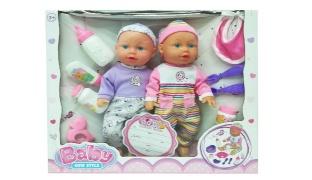Soft Body Twin Baby Dolls