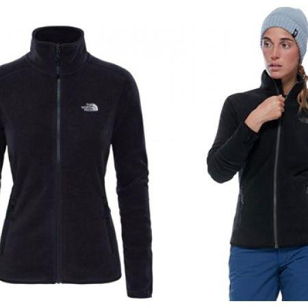 e5fcffa72 The North Face Black 2UAQ 100 Glacier Jacket For Women
