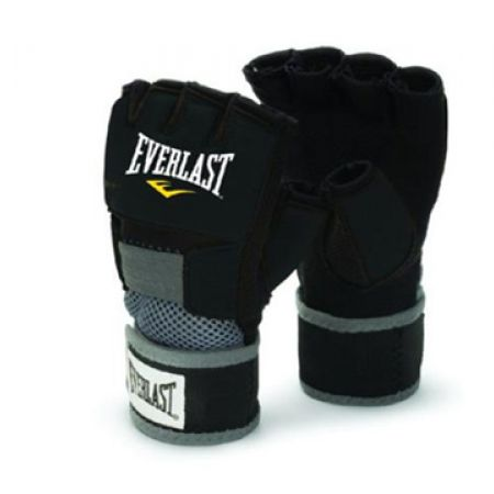the latest 2c34f 31945 Everlast Pair Of Black EverGel Boxing Handwrap Gloves For Men Size  Large
