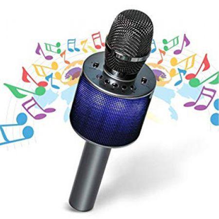 Portable Karaoke Microphone Sing Record Listen