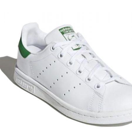 size 40 4dd89 08a15 Adidas White   Black Original Stan Smith Shoes For Kids - Size  35 -  Makhsoom