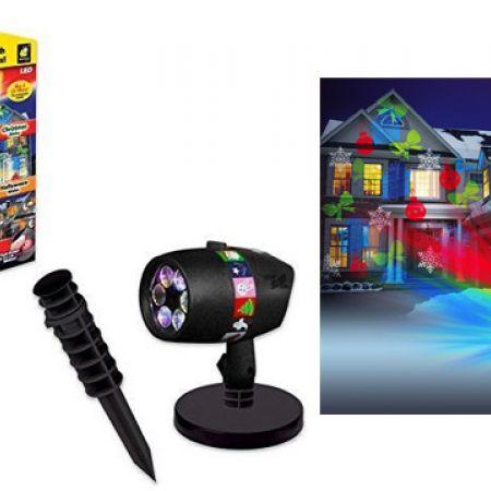 Star Shower Slide Show With 12 Full Color Holiday Slides