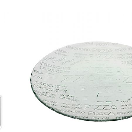 Pizza Plate Recycled Glass