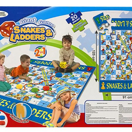 Giant Game Puzzle Snake & Ladders Game