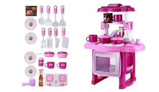 Kitchen Playset Toy With Music & Light