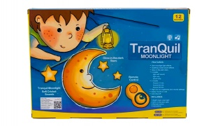 Tranquil Moonlight Wall Hanging Musical Toy With Remote Control