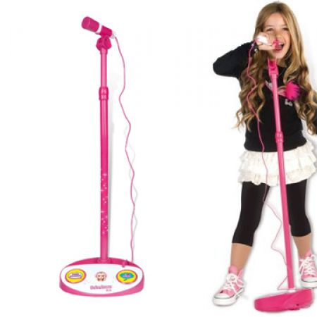 IMC Toys Barbie Pink Microphone With Amplifier