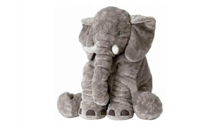Cute Jumbo Elephant Stuffed Soft Plush Doll 40 x 60 cm