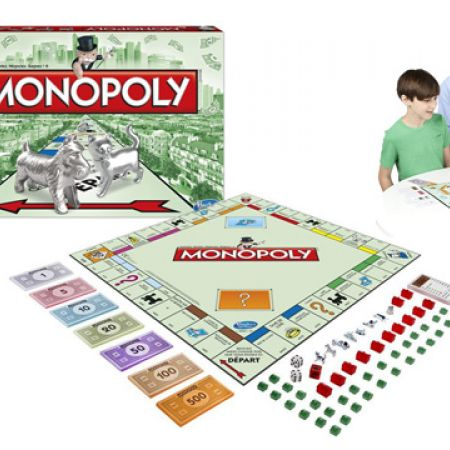 Hasbro Gaming Classic Monopoly