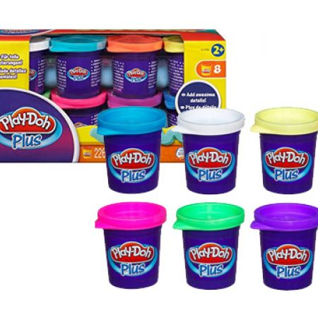 Play-Doh Set Of Plus Variety Pack 8 Pcs