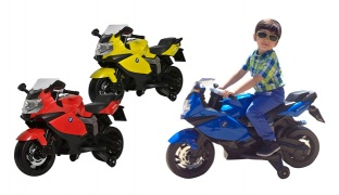 Baby Electric Motorcycle Children Ride-on 80 x 40 x 53 cm - Blue