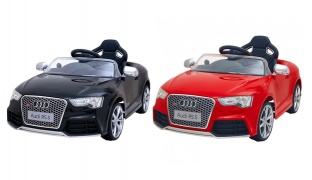 Audi RS 5 Electric Remote Controlled Ride On Car - Black