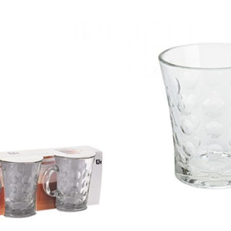 Set Of Coffee Or Tea Glass Set 3 Pcs 280 ml