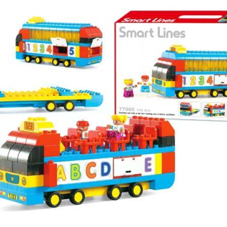 Smart Lines Creative City Bus Blocks 119 Pcs
