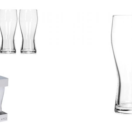 Set Of Beer Glass 4 Pcs 400 ml