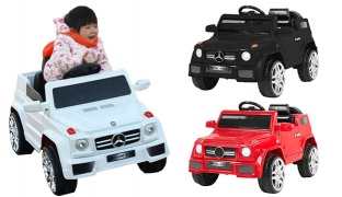Mercedes Electric Children Car With Remote Control - Black