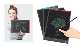 "Portable LCD Writing & Drawing Digital Tablet 12"" - Blue"