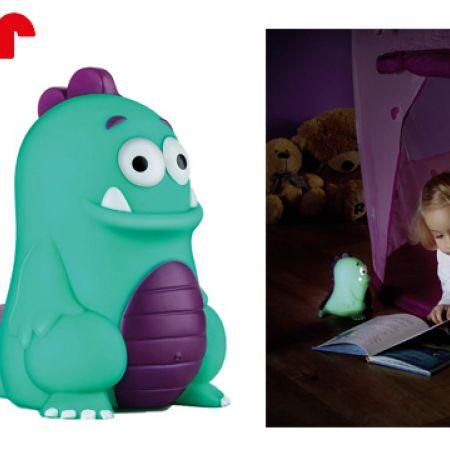 Reer My Lovely Mini Monster Lullaby Night Light Toy 10 cm
