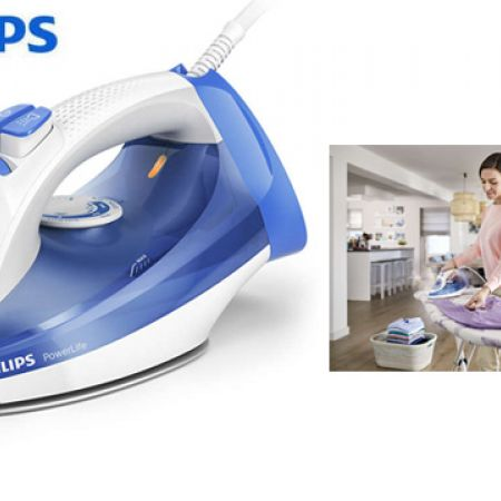 4bae6beaf9bb2 Philips PowerLife Blue Steam Iron 2300 W GC2990 20