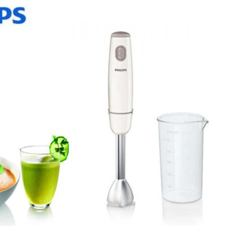 abd629135c5a5 Philips Daily Collection Electric Hand Blender 550 W 3 Pcs HR1605 01