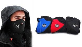 Mouth Ski Mask Unisex - Black