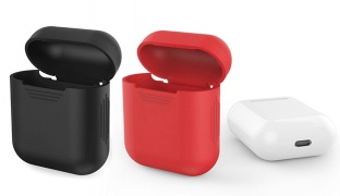 Silicone Carrying Case For Apple Airpods - Black